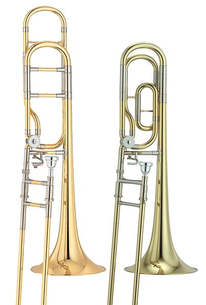 File:Yamaha Trombone comparison of open and traditional wrap.jpg