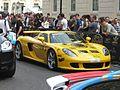 Yellow Porsche Carrera GT Gumball 3000 (2007).jpg