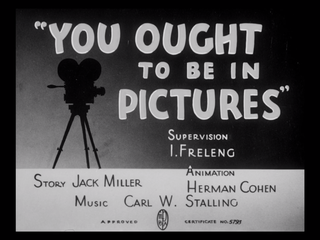 <i>You Ought to Be in Pictures</i> 1940 film by Friz Freleng
