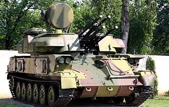 Nigerian Army self-propelled anti-aircraft gun ZSU-23-4 Shilka 01.jpg