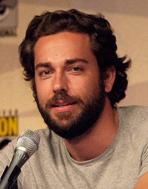 Zachary Levi - Levi at the 2009 San Diego Comic-Con