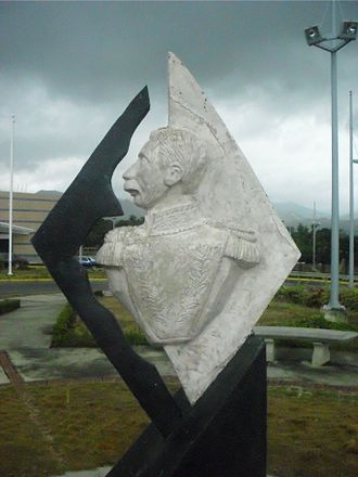Ezequiel Zamora - Statue of Ezequiel Zamora, Railway Station, Cúa