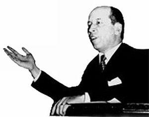 José Maria Alkmin - Alkmin during a speech