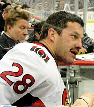 Zenon Konopka - Konopka with the Ottawa Senators in 2011.