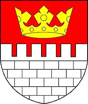 Králův Dvůr - Image: Znak obce Králův Dvůr OŘ
