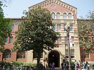 University of Southern California - Zumberge Hall, one of the original buildings on the University Park Campus