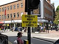 """""""Cyclists must stop at red lights"""" notice - geograph.org.uk - 2550122.jpg"""