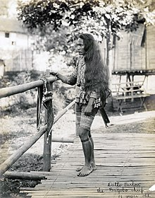 """Datto Bulon, the Bagabo chief. 19 years old."" (Philippine Reservation, Department of Anthropology, 1904 World's Fair).jpg"