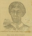 """Eliza Scott, Eldest Daughter""(of Dred and Harriet Scott). St. Louis Daily Globe, January 10, 1886.jpg"