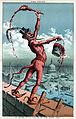 """I'll paint the town red"", political cartoon, 1885.jpg"
