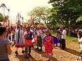 """""""LOS HISTORIANTES"""" preparandose para la procesion de la virgen de Fatima - panoramio.jpg"""