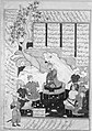 """Luhrasp Hears from the Returning Paladins of the Vanishing Kai Khusrau"", Folio from a Shahnama (Book of Kings) of Firdausi MET 174486.jpg"