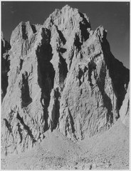 """Mt. Winchell, Kings River Canyon (Proposed as a national park),"" California, 1936. (vertical orientation), ca. 1936 - NARA - 519923.tif"