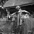 """""""Strašlə"""" za kragulje, ki hodijo po piščeta, Selo 1950.jpg"""