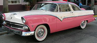 Ford Crown Victoria - 1955 Ford Fairlane Crown Victoria