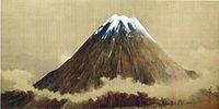 富士山を描いた絵画