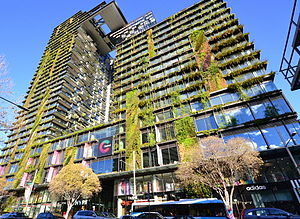 Sustainable design - One Central Park, Sydney