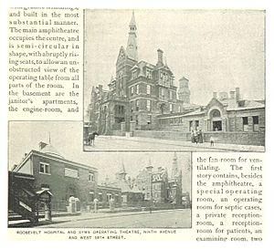 St. Luke's–Roosevelt Hospital Center - Roosevelt Hospital, 1893