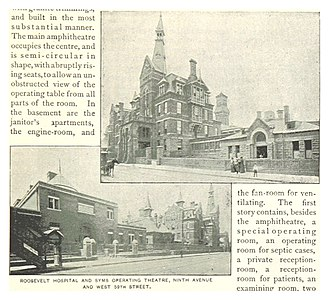 St. Luke's–Roosevelt Hospital Center - Roosevelt Hospital, 1893