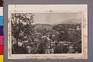 État de Minas Geraes - Paysage Montagneux