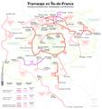Île-de-France - plan des tramways.png