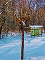 Вказівник на Кочубеївські Дуби - 800 річні велетні у Регіональному ландшафтному парку «Диканський».jpg