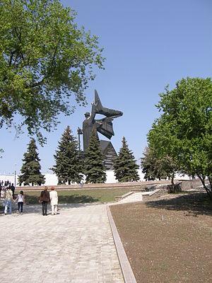 To Donbass Liberators - Image: День Победы в Донецке, 2010 024