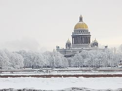 Winter at the St Petersburg...