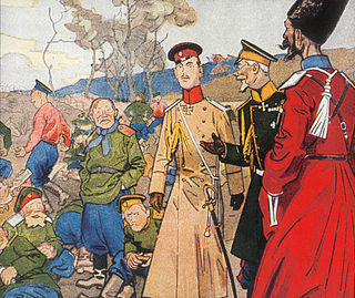 Russian Army (1917) army existing between the February and October 1917 revolutions