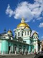 Кафедральный собор Богоявления в Елохове с крестильным храмом Василия Блаженного.jpg