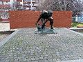 Пам'ятник «Булижник - зброя пролетаріату» (копія), Площа Червона Пресня.JPG