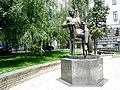 Пам'ятник Лесю Курбасу, режисеру, Прорізна вулиця.jpg