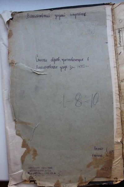 File:Перепись евреев Васильковского уезда Киевской губернии 1882 года.pdf