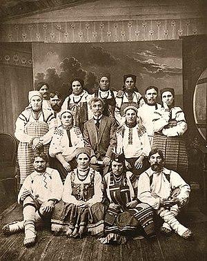 создание и развитие русского народного воронежского хора