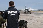 Работа российских и иностранных СМИ на авиабазе «Хмеймим» в Сирии (21).jpg