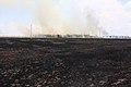Степной пожар к северу от грейдера - panoramio.jpg