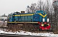 ТЭМ2-7148, подъездные пути к станции Верево.jpg