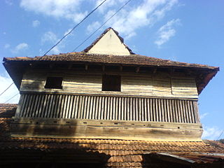 Pandalam Place in Kerala, India