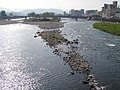 人吉市街地を流れる球磨川 Kuma River in Hitoyoshi City - panoramio.jpg