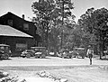 000011 Grand Canyon Ranger in Front of Babbitt Store 1931 (4739112379).jpg