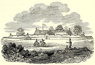 Kalutara - ''Caltura'' Fort (1799), by James Welsh.
