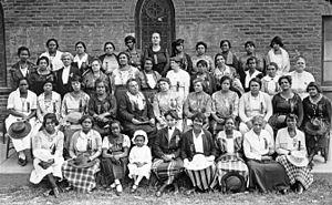 Woman's club movement - First Convention of the Montana Federation of Negro Women's Clubs, Butte, Montana, August 3, 1921
