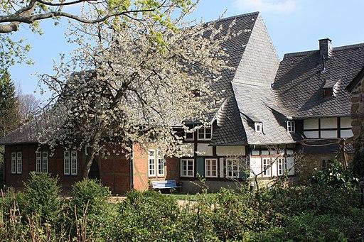 03.1-St. Annenhaus, Gartenseite, Goslar, 06-04-2014