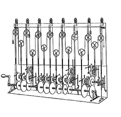 Sir William Thomson's third tide-predicting machine design, 1879-81 099-tpm3-sk.jpg