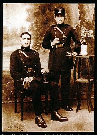 National Police of Peru - Civil Guard of Peru in 1924