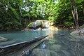 1012 - Erawan Waterfall 2nd floor has underwater trees.jpg