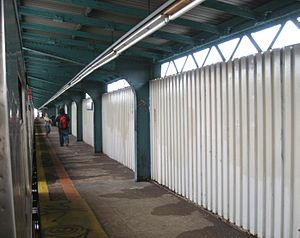 104th Street (BMT Jamaica Line) - Northbound platform
