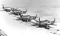 109th Fighter Squadron F-51 Mustangs late 1940s.jpg