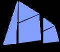 139px-Sail plan ketch.png