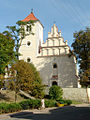 14. Janowiec, kościół par. p.w. św. Stanisława biskupa i męczennika i św. Małgorzaty.JPG